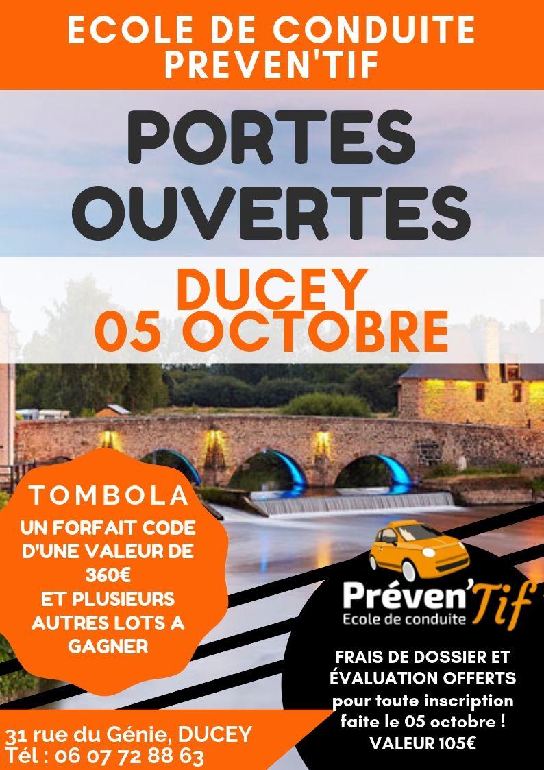 Read more about the article Portes Ouvertes à Ducey !